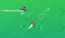 Esri Public Sector GIS  Conferenc