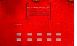 2015 Charleston Marketing Plan