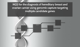 NGS for the diagnosis of hereditary breast and ovarian cance