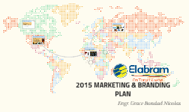 2015 MARKETING & BRANDING PLAN