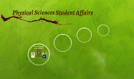 Physical Sciences Student Affairs