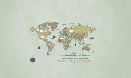 11-1 Global Human Resources Management