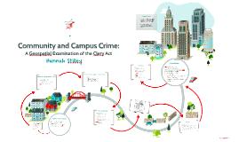 Community and Campus Crime
