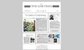 Colonial Times, the Battle of Gettysburg, and Ulysess S. Grant