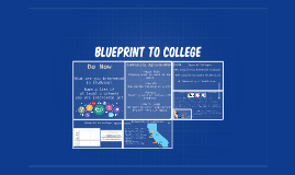 Blueprint to College