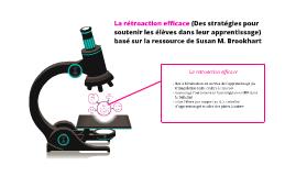 Copy of La rétroaction efficace