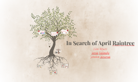 in search of april raintree chapter summaries