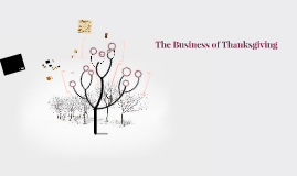 The Business of Thanksgiving