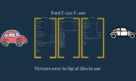 Copy of Ford F-150/F-100