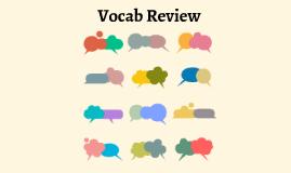 Reusable EDU Design: Vocab Review by Светлана Щевелева