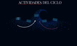 ACTIVIDADES DEL CICLO