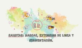 Copy of SABRITAS: MARCAS, EXTENSION DE LINEA Y SEGMENTACIÓN.