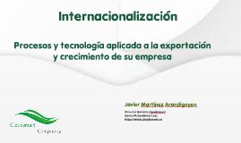 Internacionalizacion/exportacion