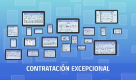 CONTRATACIÒN ECXEPCIONAL