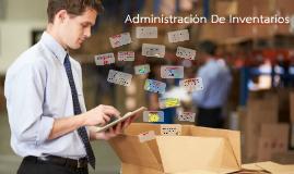 Copy of Administracion de inventarios