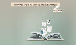 Honors Welcome to Shakopee High 2015