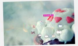 Copy of WONDERLAND