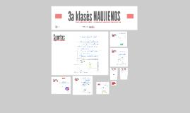 3a klasės NAUJIENOS