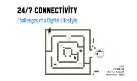 Challenges of a Digital Lifestyle | 19.11.2012