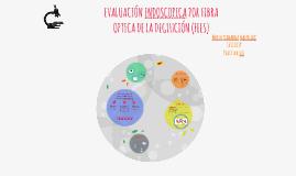 EVALUACIÓN ENDOSCOPICA POR FIBRA OPTICA DE LA DEGLUCIÓN (FEE