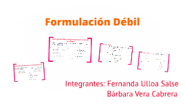 Formulación Variacional