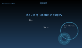 Copy of The Evolution of Robotics In Medicine