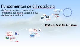 Fundamentos de Climatologia