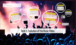 Evolution of the Music Video - Task 2. (Media Studies, A2)
