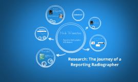 Research: The Journey of a Radiographer