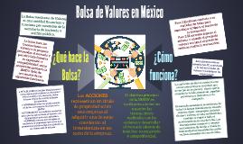 Bolsa de Valores Mexicana