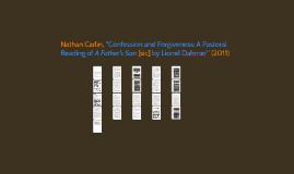 "Nathan Carlin, ""Confession and Forgiveness: A Pastoral Readi"