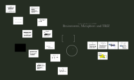 Brainstorm Metaphors and TRIZ for the MAP