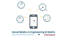 Social Media in Engineering & Maths