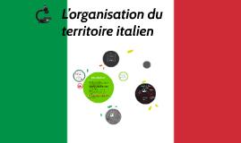 Les organisations territoriales de l'Italie