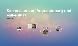 Schloesser von Augustusburg und Falkenlust