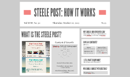 STEELE POST: HOW IT WORKS