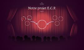 Notre projet E.C.R