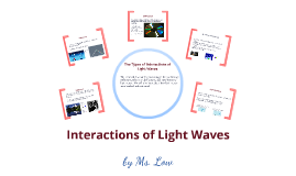 Copy of Interactions of Light Waves