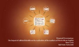 Proposal Presentation: