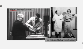 milgram and zimbardo The milgram experiment on obedience to  how good people turn evil — video lecture of philip zimbardo talking about the milgram experiment zimbardo,.