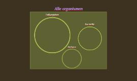Alle organismen