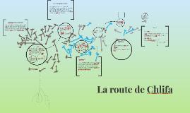 Copy of La route de Chlifa