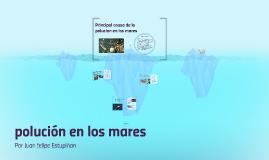 polución en los mares
