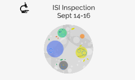 ISI Inspection 2016