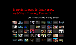 Literary Devices in Movie Scenes