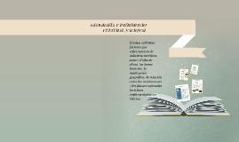 GEOGRAFÍA Y PATRIMONIO CULTURAL NACIONAL