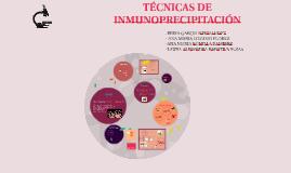 tecnicas de inmunopresipitacion