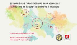UAO- Estimación de transitabilidad para vehículos terrestres en a