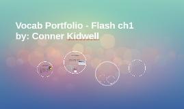 Vocab Portfolio - Flash ch1