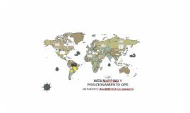 WEB MAPPING Y POSICIONAMIENTO GPS